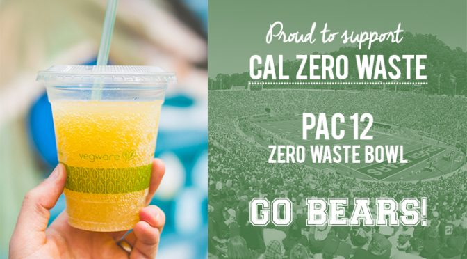 biodegradable compostable zero waste california berkeley recycling cal athletics